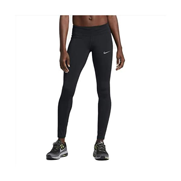 Nike Power Epic Run Tights Women's Leggings, Style: 938664 010 Black, Small