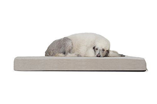 - FurHaven Deluxe Orthopedic Pet Bed Mattress for Dogs and Cats, Clay, Jumbo