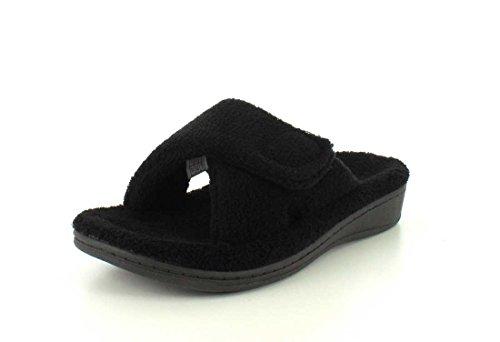 Orthaheel - Zapatillas de estar por casa para mujer negro negro 9