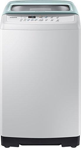 Samsung 6 kg Fully-Automatic Top Loading Washing Machine (WA60H4300HB, Light Grey and Savoy Blue)