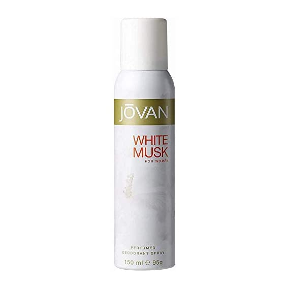 Jovan White Musk Body Spray For Women, 150ml
