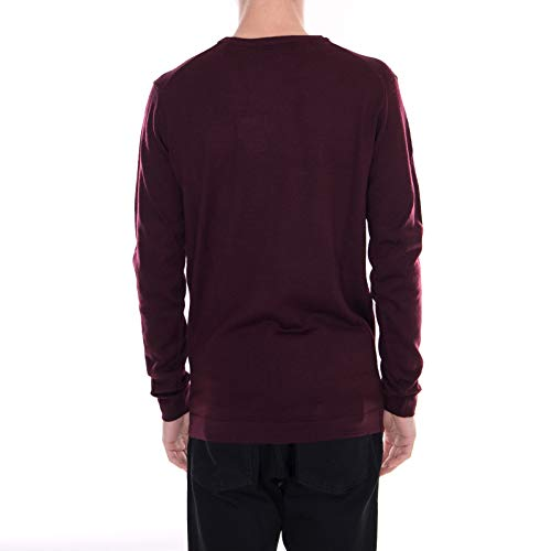 Bordeaux Pull Pull Fitz Fitz Rouge Rouge Bordeaux solido Pull solido Fitz solido UxqFwTx5