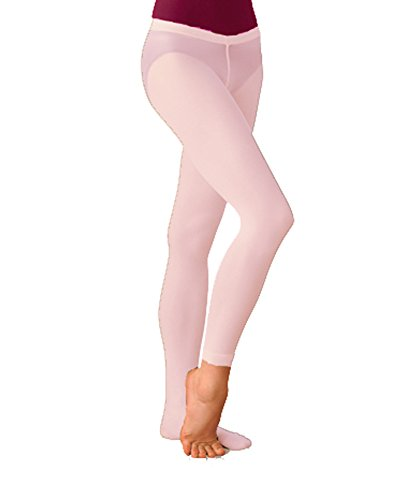 Body Wrappers A34 Womens Total Stretch Low Rise Convertible Tights (Small/Medium, Theatrical Pink)