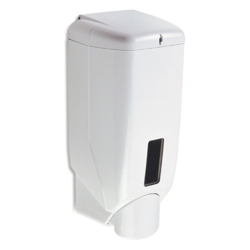 - StilHaus K22-638845321754 Accessories Collection Commercial Wall Mount Liquid Dispenser, White