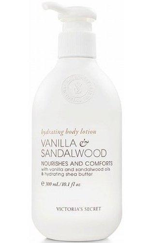 Victoria's Secret Vanilla & Sandalwood Naturally Hydrating B