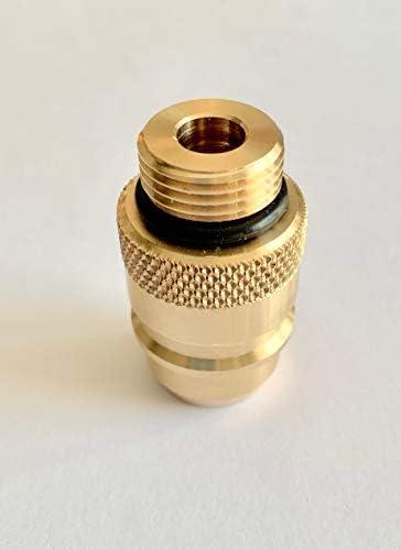 Euro Nozzle Reservorio adaptador M22, LPG Auto Gas 50 mm, w21,8 ...