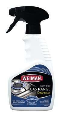 Weiman Gas Range Cleaner, 12 Ounce - 6 per case.