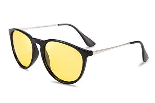 Karsaer Night Vision Driving Glasses Polarized Anti-glare Clear Sunglasses Women Men