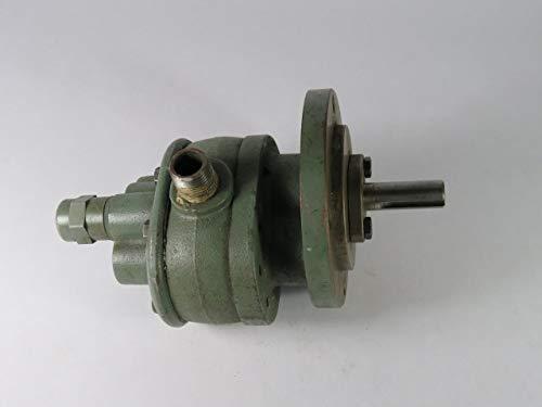 Brown & Sharpe 713-2-7 No. 2 Rotary Gear Pump W/Relief Valve 900RPM