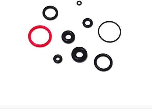 180 Piece Viton O-Ring Kit Accessories for Autos Machines Kitchen Gadgets /& more