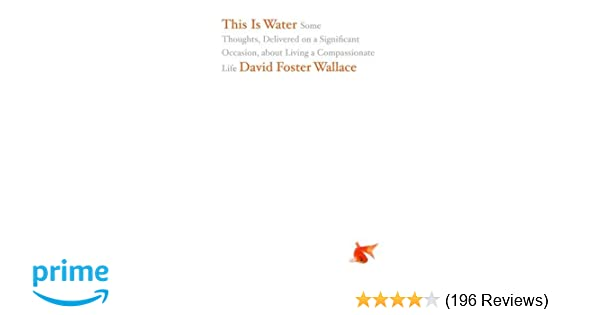 this is water david foster wallace analysis