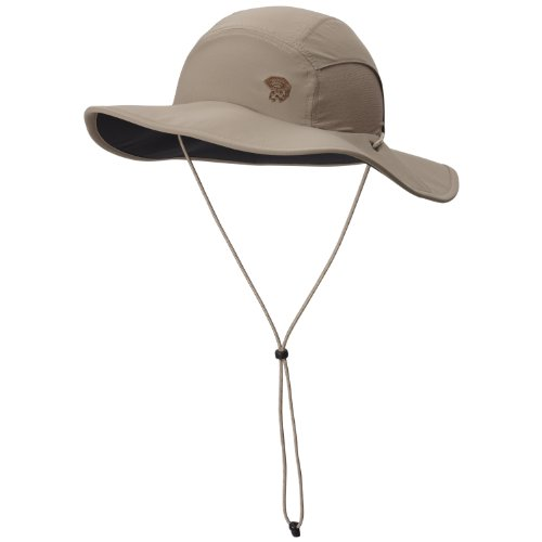 Mountain Hardwear Sun Hat (Mountain Hardwear Unisex Chiller Wide Brim Hat II, Khaki,)