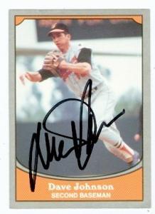 Autograph Warehouse 82729 Davey Johnson Autographed Baseball Card Baltimore Orioles 1990 Pacific No .33 Baseball Legends