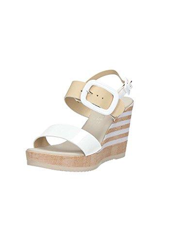 Brigitte 55423 Sandalen Damen Weiß