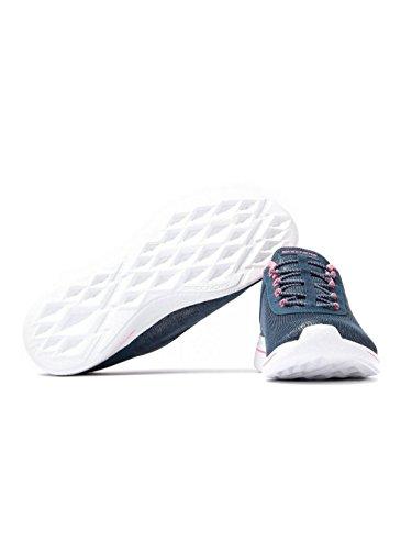 Skechers Burst 2.0-Sunny Side, Entrenadores para Mujer Azul (Navy/pink)
