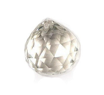 Amazon faceted clear crystal ball prisms for feng shui home faceted clear crystal ball prisms for feng shui home decor chandelier crystal 40mm by aloadofball Choice Image