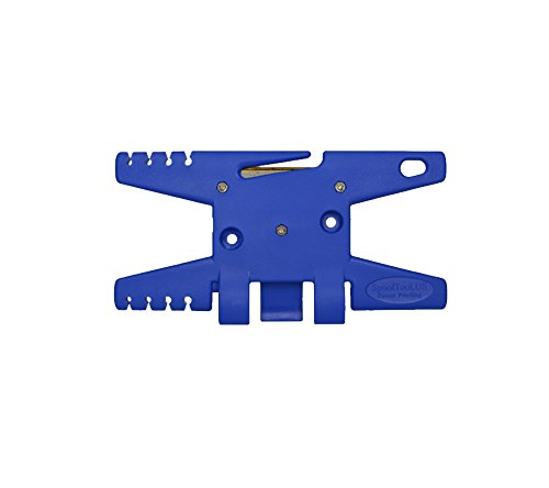 Paracord Spool Tool (Blue)- Holds up to 100' of Parachute (Parachute Tool)