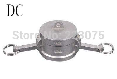 Maslin SS304 Stainless Steel CAM Lock CAMLOCK&Groove Type DC Coupler Dust Cap 1-1/2''