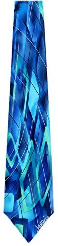 JG-XL-6216 - Jerry Garcia Extra Long Polyester XL Big and Tall Designer Necktie Ties (Jerry Garcia Extra Long Ties)