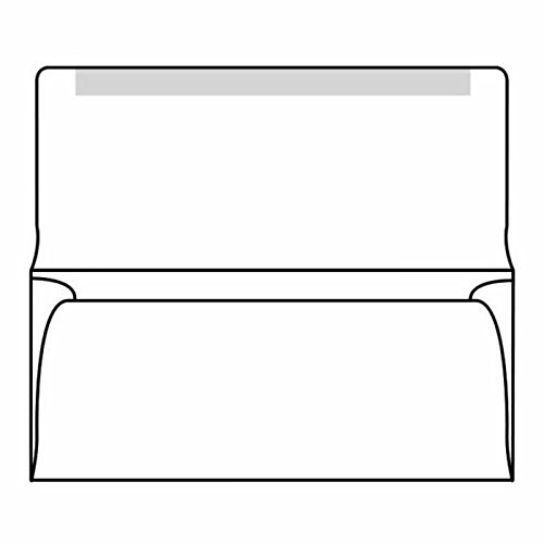 #6-3/4 Collection/Remittance Envelopes, 3-5/8'' x 6-1/2'' 24# White, Open Side, Flaps Extended (Box of 500) by The Envelope Supplies Shop