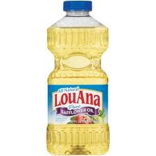 - Louana Safflower Oil, 24 Oz, (Pack of 4)