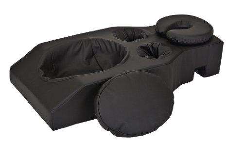 Earthlite Pregnancy Cushion, NS Black (Massage Pillow For Pregnancy)