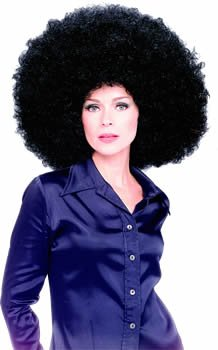 Rubie's Costume Co Oversized Afro Wig, Black, Standard - coolthings.us