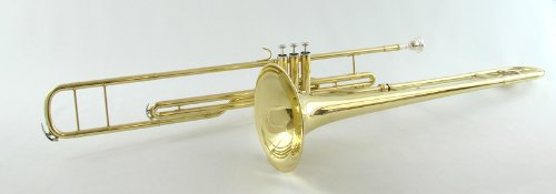 Schiller American Heritage Bb Valve Trombone - Gold Lacquer by Schiller