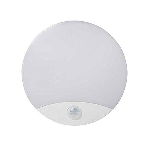 Kanlux - Plafón LED Sanso con sensor de movimiento, 15 W, IP44, 4000K, 15W-NW-SE, código 26520: Amazon.es: Iluminación