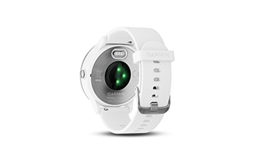 Garmin 010-01769-21 Vivoactive 3, GPS Smartwatch with Contactless Payments and Built-in Sports Apps, White/Silver 7