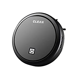 Escolourful Robot Vacuum Cleaner, USB Charging Robotic Vacuum Cleaner Floor Sweeper Automatic Sweeping Mopping Machine