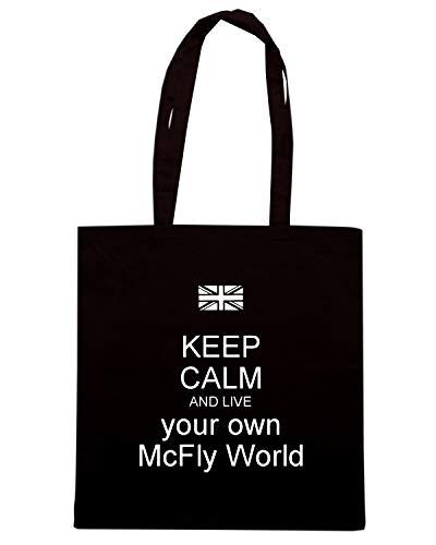 OWN Borsa AND CALM KEEP Nera LIVE Speed MCFLY Shirt TKC1209 Shopper YOUR WORLD Sq5wWxnvfU