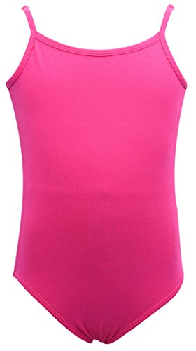 Dancina Leotard Camisole Adjustable Strap Ballet Gymnastic Front Lined Ages 2-10