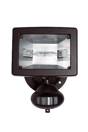 Brinkmann Home Security Halogen Motion Detector Light, Bronze