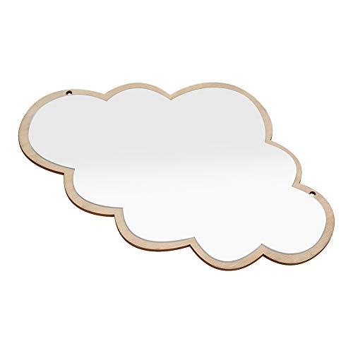 Espejo habitacion ninos, Espejo acrilico nordico Decorativo Etiqueta de la Pared calcomania ninos ninos Arte decoracion (Cloud)
