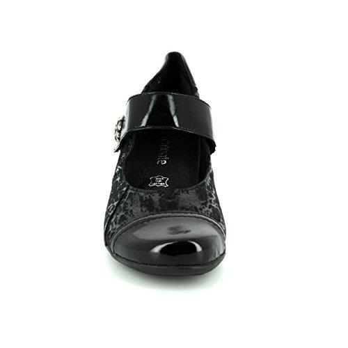 Remonte 03 Escarpins Pour Noir Femme D7346 wf1SwqAR