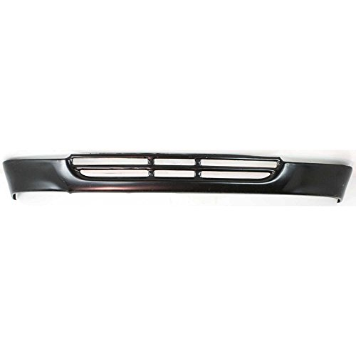 (Evan-Fischer EVA18272010096 Lower Panel Valance for Toyota Pickup 89-91 Front Steel Painted-Black 2WD)