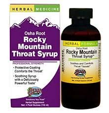 Herbs Etc, Rocky Mountain Throat Syrup, 4 ()