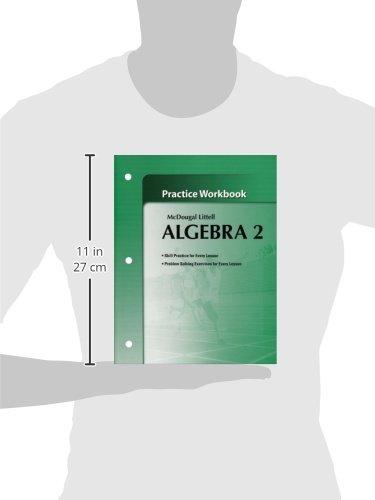 Algebra 2 workbook mcdougal littell