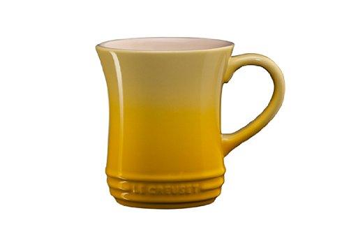 Le Creuset Stoneware Tea Mug, 14-Ounce, Soleil