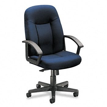 (basyxTM VL600 Series Managerial Mid Back Swivel/Tilt Chair CHAIR,MGR MID BCK SWVL,NY 90985 (Pack of2))