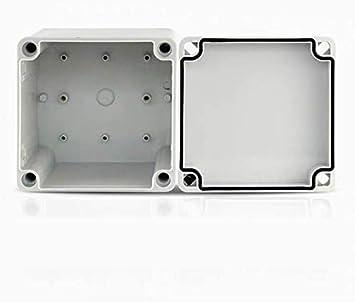 Vogueing Tool Caja de conexiones Impermeable IP67 Electrical Project Box ABS DIY Caja de Instrumentos para Proyectos Electrónicos (175 x 125 x 100 mm): Amazon.es: Bricolaje y herramientas