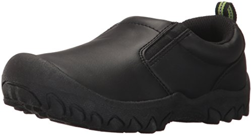 M.A.P. Boys' Glen Slip on Jungle Moc Sneaker, Black, 3 M US Little Kid