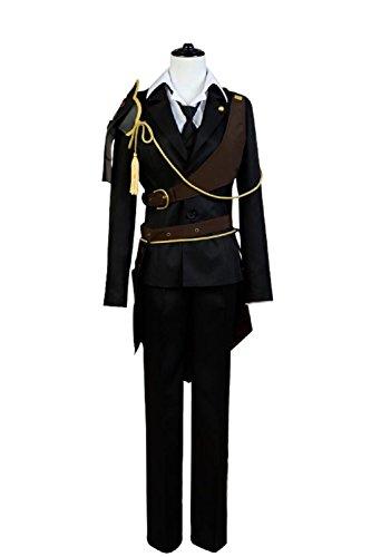 Gokotai Costume (Cosplaybar Cosplay Costume Touken Ranbu Shokudaikiri Mitsutada Outfit Male XXXL)