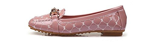 Pink On Everyday Classic Toe Womens BeautyOriginal Flats Round Ballet Slip Comfortable TqvwY1