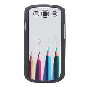 conseguir Estuche duro del patrón de colores para Samsung Galaxy S3 I9300
