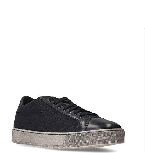 Santoni Mbgl20868sportwau60 Sneakers Uomo Blu Pelle SBSr16