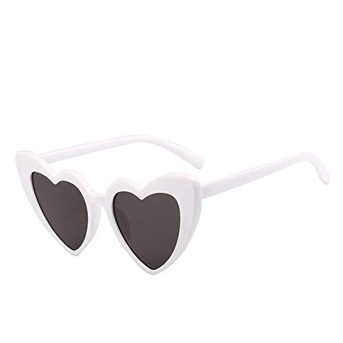 6ab1a06c8f Hectare Buy white  Love heart sunglasses women cat eye vintage Christmas  gift black pink red heart shape sun g  Amazon.in  Clothing   Accessories