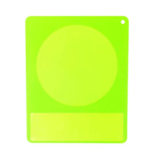 Pulison Waterproof Translucent Silicone Mat Food Induction Cooker Protection Accessories (Green) (Evergreen Stocking)