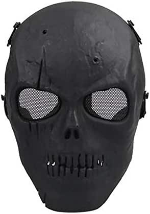 Zhoyea Durable Warm Full Face Mask Cover Skull Protective Mask Riding Collection Movie Props Field Mask
